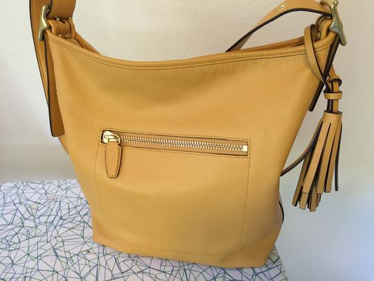 Coach Leather Cross Body Bag Image 5