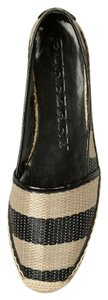 Burberry Espadrille black /honey Flats
