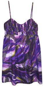 Blue Juice short dress Purple Multi on Tradesy