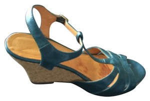 Chelsea Crew Blue Wedges