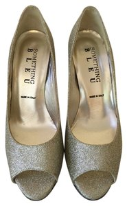 Something Bleu Bridal Sparkly gold Formal
