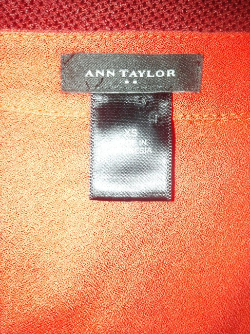 Ann Taylor Top orange Image 2