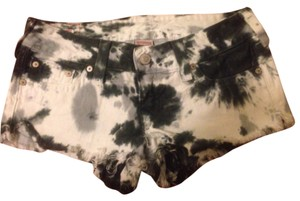 True Religion Cut Off Shorts Tie dye