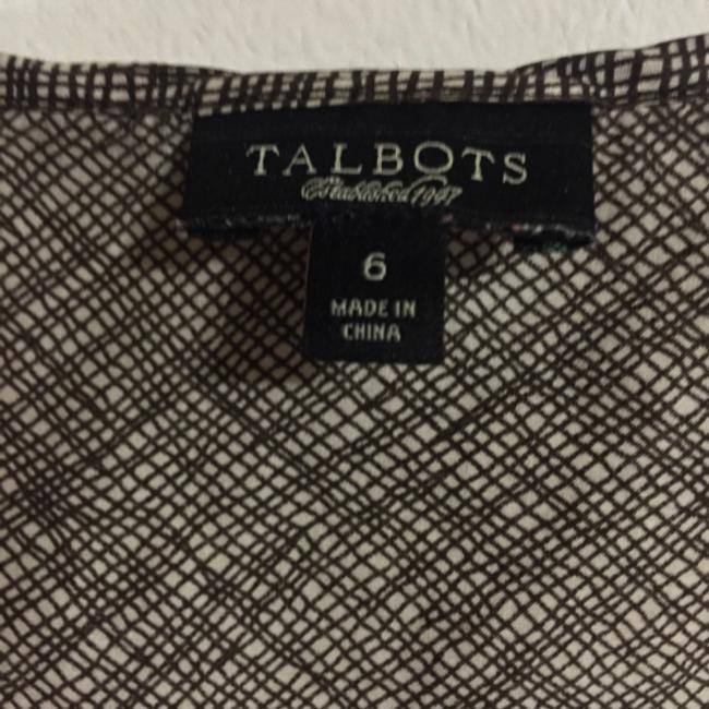 Talbots Top Brown