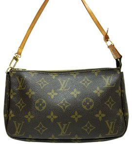 Louis Vuitton Monogram Browns Clutch