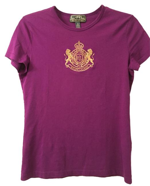 Preload https://item5.tradesy.com/images/ralph-lauren-purple-l-rl-active-embollished-tee-shirt-size-2-xs-4384834-0-0.jpg?width=400&height=650