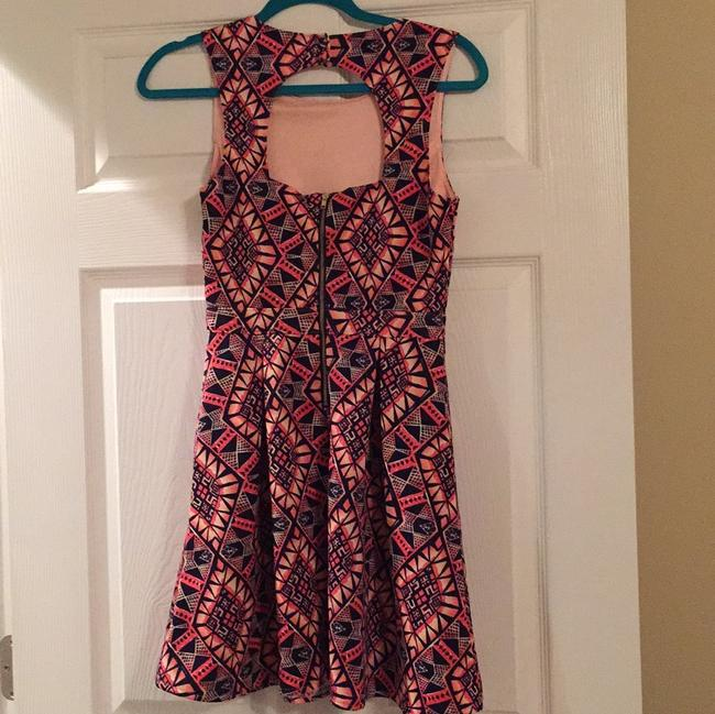 Forever 21 short dress Pink, coral, navy on Tradesy