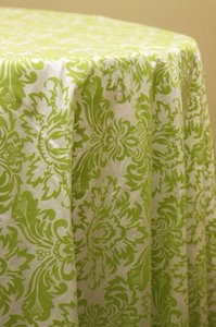 Green 2 Apple Damask 120