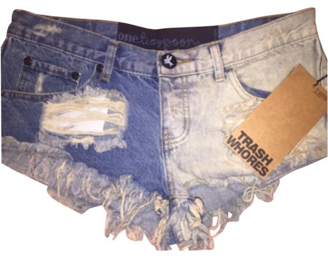Preload https://item1.tradesy.com/images/one-teaspoon-trash-whore-frayed-jean-xs-cut-off-shorts-size-2-xs-26-4384915-0-0.jpg?width=400&height=650