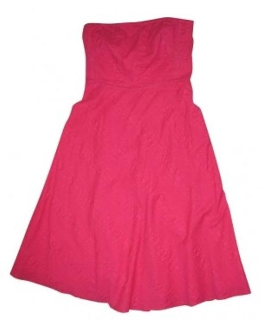 Preload https://item1.tradesy.com/images/jcrew-rose-pink-tea-length-long-cocktail-dress-size-2-xs-4385-0-0.jpg?width=400&height=650