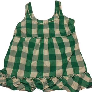 Juicy Couture Top Green and white