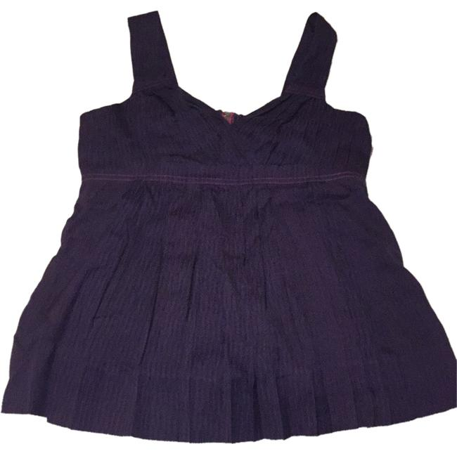 Preload https://item3.tradesy.com/images/marc-by-marc-jacobs-tank-top-purple-with-pink-trim-4385122-0-0.jpg?width=400&height=650