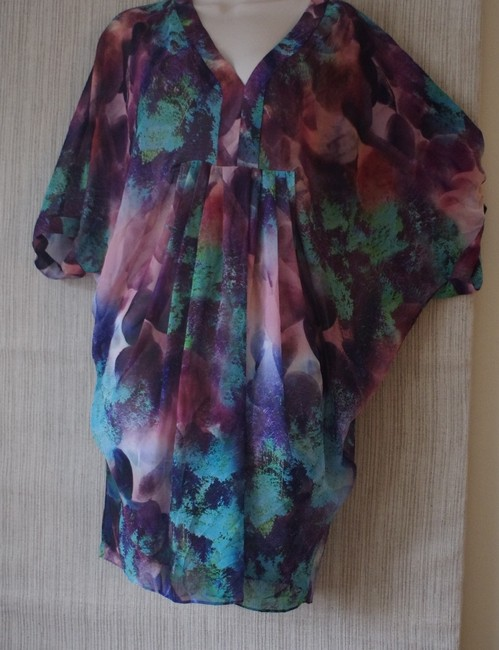 aidan AIDAN MATTOX short dress multicolored on Tradesy