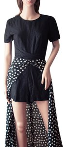 YL by Yair Vintage 1980s 80s Polka Dot Dress