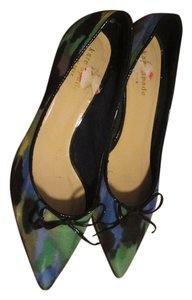 Kate Spade blue green black Pumps