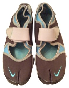 Nike Blue and Brown Athletic