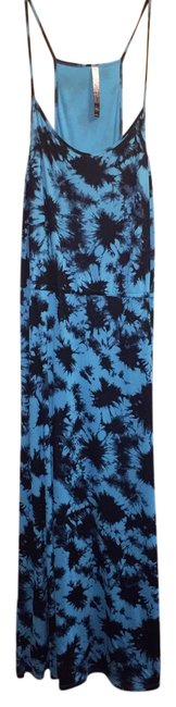 Preload https://item3.tradesy.com/images/kensie-blue-and-black-long-casual-maxi-dress-size-16-xl-plus-0x-4386217-0-0.jpg?width=400&height=650