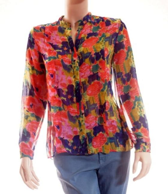 Preload https://item2.tradesy.com/images/w118-by-walter-baker-womens-floral-printed-chiffon-willie-blouse-top-4386256-0-0.jpg?width=400&height=650