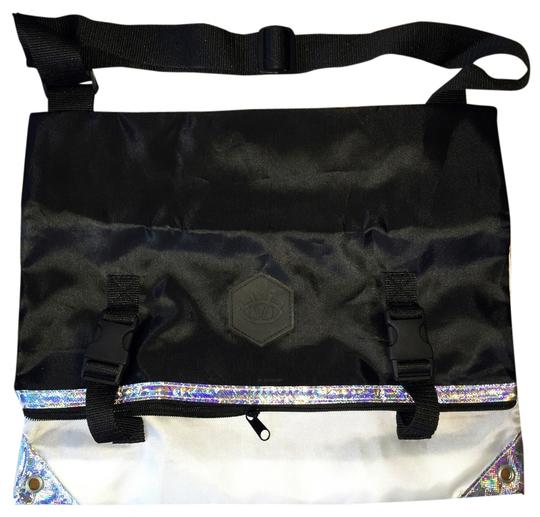 Lululemon Seawheeze Seawheeze 2014 Light Weight Black/White/Holographic Messenger Bag