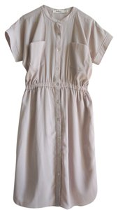 dee & ray short dress Mauve pink Shirtdress Shirt Elastic Dolman Comfortable Easy Button-down Knee-length Pull-on on Tradesy