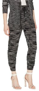 M Missoni Relaxed Pants Black and White