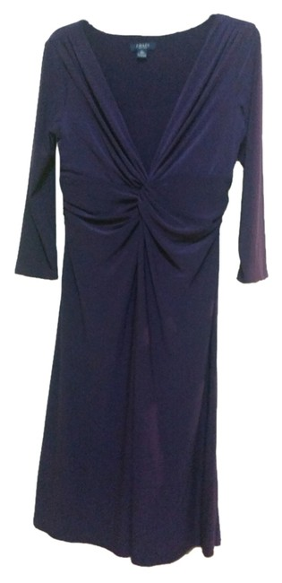 Chaps Classic Casual Comfortable Formal Polyester Empire Waist Dress
