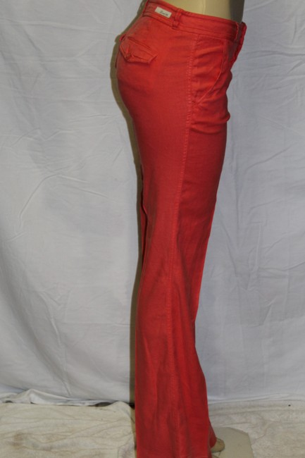 Level 99 Super Flare Pants coral