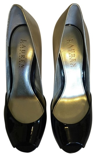Preload https://img-static.tradesy.com/item/4387249/ralph-lauren-black-and-ltgold-heels-pumps-size-us-55-regular-m-b-0-0-540-540.jpg