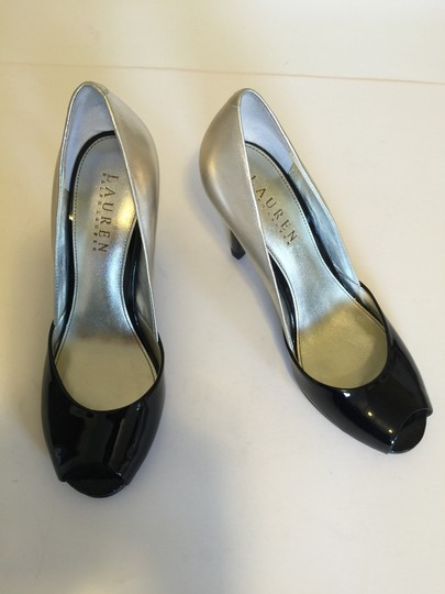 Ralph Lauren Black & lt.gold Pumps Image 1