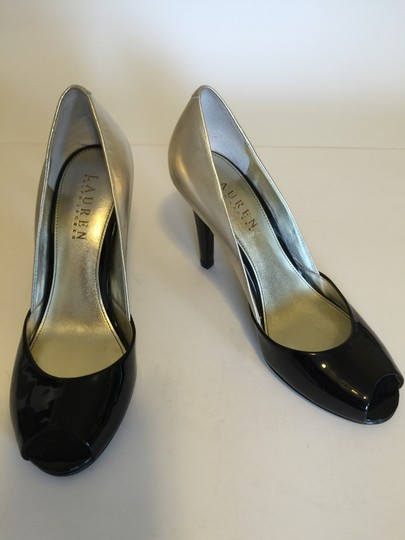 Ralph Lauren Black & lt.gold Pumps Image 2