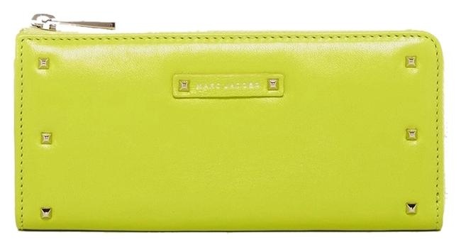 Item - Yellow Green New Lex Leather Wallet