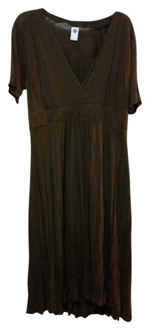 Preload https://item1.tradesy.com/images/gap-brown-classic-mid-length-short-casual-dress-size-14-l-4387435-0-0.jpg?width=400&height=650