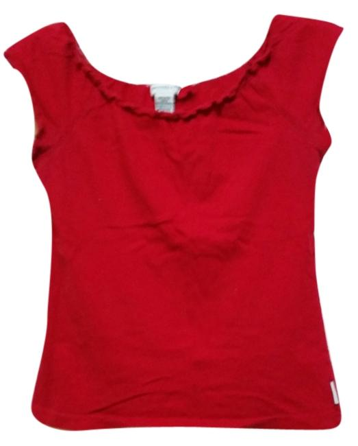 Abercrombie & Fitch Cotton T Shirt Red