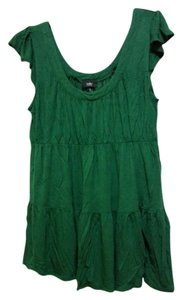 Mossimo Supply Co. Flowy Top Green