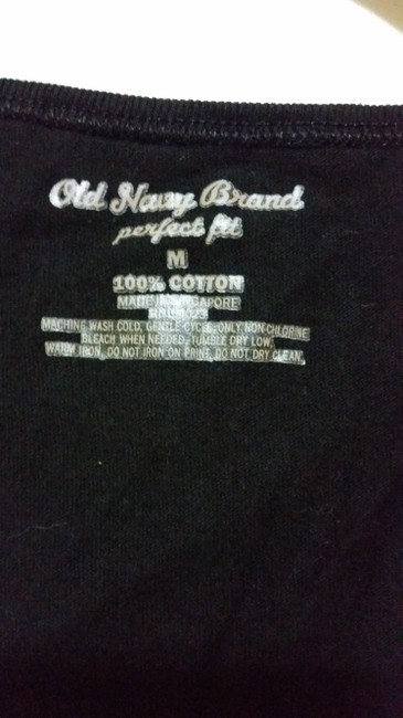 Old Navy Cotton Comfortable Classic T Shirt Black