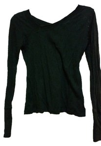 Charlotte Russe Cotton Comfortable T Shirt Black