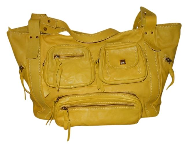 Item - Italian Yellow Gold Leather Tote