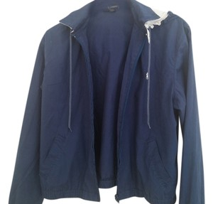Ralph Lauren Detachable Hood Blue Jacket