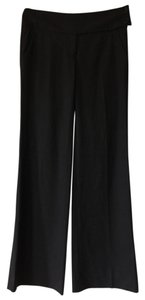 Robert Rodriguez Work Attire Wide Leg Pants Black