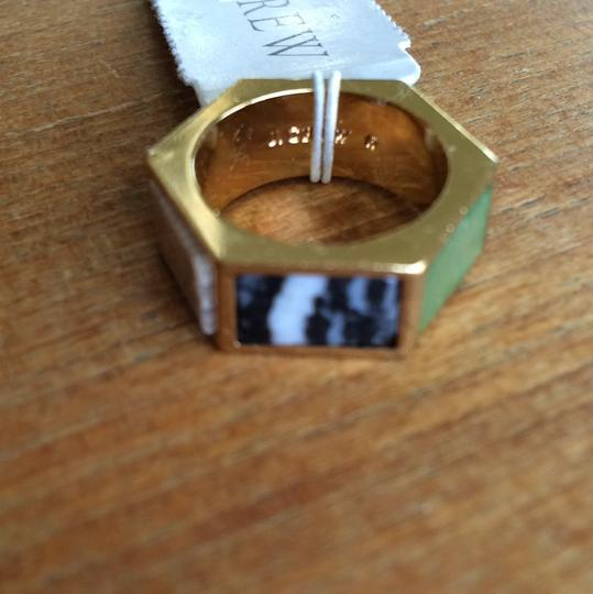 J.Crew Hexagonal Stone Ring
