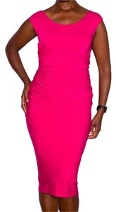 Donna Karan After5 Datenight Color Pink Dress