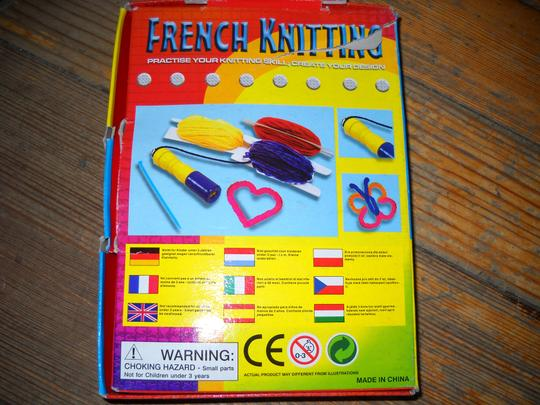 Other FRENCH KNITTING KIT