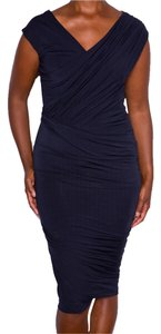 Donna Karan Color Figure Flattering Dress