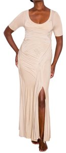 Donna Karan Draped Collection Sexy Dress