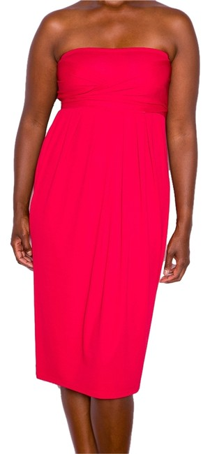 Donna Karan Color Figure Flattering Infinity Drape Iconic Fun Bodycon Sexy Day Comfort After5 Dinner Classic City Date Tube Halter Dress
