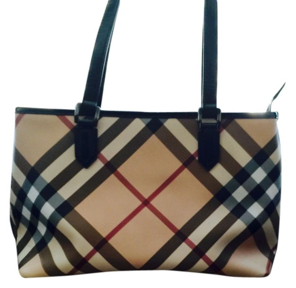 Burberry Authentic Burberry Canvas Check Print Shoulder Bag - Tradesy 74b20d34f727c