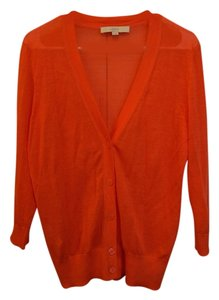 Ann Taylor LOFT Colorful Lightweight Summer Button Down 3/4 Length Sleeve Cardigan
