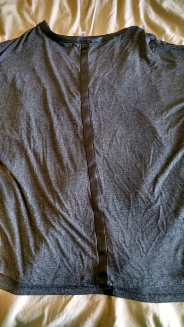 Other Faux Top Grey Leather