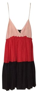 Ella Moss short dress Pink Red Black on Tradesy