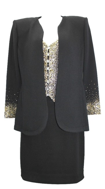 Preload https://item2.tradesy.com/images/st-john-evening-by-marie-gray-embellished-3-pc-black-skirt-suit-size-4-s-4392556-0-0.jpg?width=400&height=650